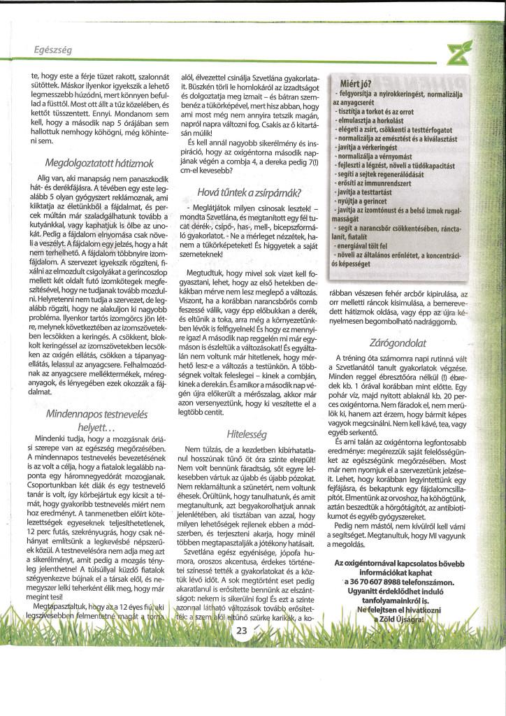 Zöld újság